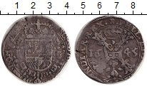 Изображение Монеты Нидерланды Испанские Нидерланды 1 патагон 1645 Серебро VF