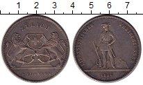 Изображение Монеты Швейцария Цюрих 5 франков 1859 Серебро XF