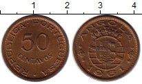 Изображение Монеты Ангола 50 сентаво 1961 Бронза UNC
