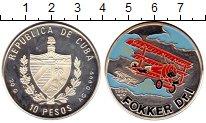 Изображение Монеты Куба 10 песо 1994 Серебро Proof-