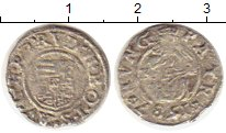 Изображение Монеты Венгрия 1 денарий 1587 Серебро VF