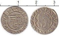Изображение Монеты Венгрия 1 денарий 1553 Серебро VF