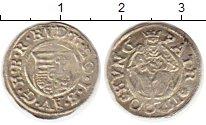Изображение Монеты Венгрия 1 денарий 1590 Серебро VF