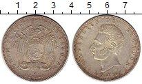 Изображение Монеты Эквадор 5 сукре 1944 Серебро UNC-