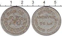 Изображение Монеты Коморские острова 25 сантим 1915 Алюминий VF