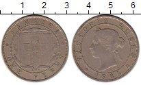 Изображение Монеты Ямайка 1 пенни 1985 Медно-никель XF