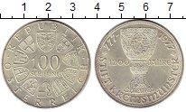 Изображение Монеты Австрия 100 шиллингов 1977 Серебро UNC