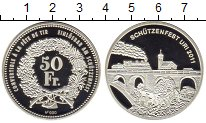 Изображение Монеты Швейцария 50 франков 2011 Серебро Proof