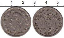 Изображение Монеты Эквадор 1 сукре 1937 Медно-никель VF