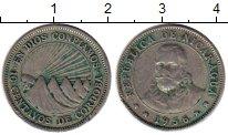 Изображение Монеты Никарагуа 10 сентаво 1956 Медно-никель XF