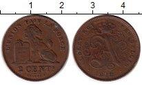 Изображение Монеты Бельгия 2 сантима 1912 Бронза XF