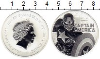 Изображение Монеты Тувалу 1 доллар 2019 Серебро UNC