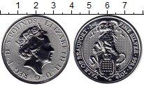 Изображение Монеты Великобритания 5 фунтов 2019 Серебро UNC