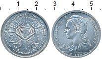 Изображение Монеты Сомали 2 франка 1965 Алюминий UNC