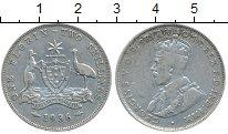 Изображение Монеты Австралия 1 флорин 1936 Серебро VF