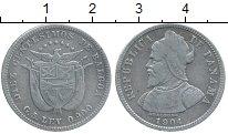 Изображение Монеты Панама 10 сентесим 1904 Серебро XF-