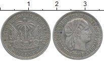 Изображение Монеты Гаити 10 сантим 1894 Серебро XF