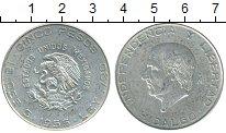 Изображение Монеты Мексика 5 песо 1955 Серебро XF