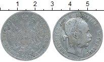 Изображение Монеты Австрия 1 флорин 1887 Серебро VF