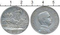 Изображение Монеты Италия 2 лиры 1912 Серебро XF
