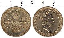 Изображение Монеты Великобритания 2 фунта 1989 Латунь XF