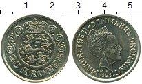 Изображение Монеты Дания 20 крон 1998 Латунь UNC-