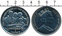 Монета Остров Мэн 1 крона Медно-никель 2000 UNC