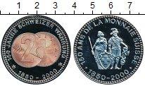 Изображение Монеты Швейцария Медаль 2000 Медно-никель Proof-