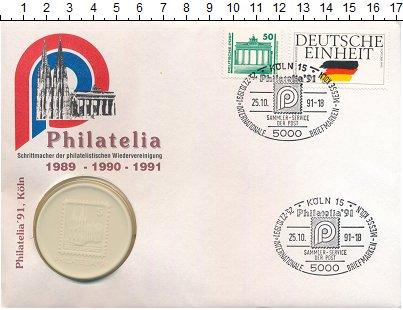 Изображение Монеты ФРГ Медаль 1989  UNC Международная филате
