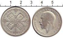 Изображение Монеты Великобритания 1 флорин 1935 Серебро VF