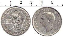 Изображение Монеты Великобритания 2 шиллинга 1944 Серебро VF