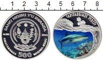 Монета Руанда 500 франков Серебро 2010 Proof фото