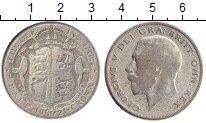 Изображение Монеты Великобритания 1/2 кроны 1921 Серебро VF