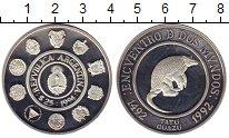 Изображение Монеты Аргентина 25 песо 1992 Серебро Proof-