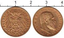 Изображение Монеты Германия Вюртемберг 10 марок 1893 Золото XF