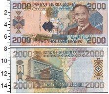 Изображение Банкноты Сьерра-Леоне 2000 леоне 2006  UNC