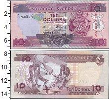 Изображение Банкноты Соломоновы острова 10 долларов 0  UNC