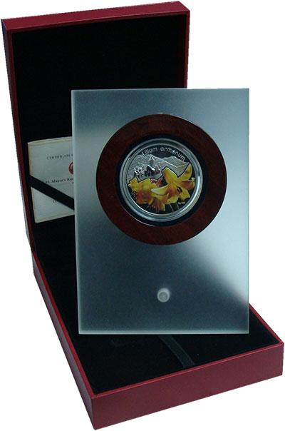 Изображение Подарочные монеты Ниуэ 1 доллар 2012 Серебро Proof Серия Лилии: Лилия А
