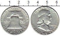 Изображение Монеты США 1/2 доллара 1962 Серебро XF