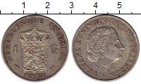 Изображение Монеты Антильские острова 1 гульден 1952 Серебро XF