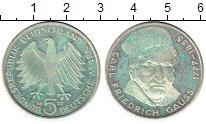 Изображение Монеты ФРГ 5 марок 1977 Серебро Proof-