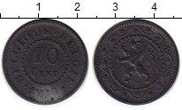 Изображение Монеты Бельгия 10 сантим 1915 Цинк XF