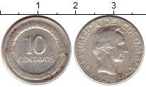 Изображение Монеты Колумбия 10 сентаво 1949 Серебро XF