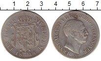 Изображение Монеты Ганновер 1 талер 1844 Серебро XF-
