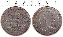 Изображение Монеты Германия Вюртемберг 5 марок 1898 Серебро XF-