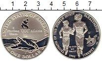 Изображение Монеты США 1 доллар 1995 Серебро Proof