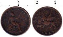Изображение Монеты Греция Ионические острова 1 лептон 1849 Медь VF
