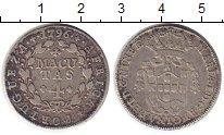 Изображение Монеты Ангола 4 макутас 1796 Серебро XF-