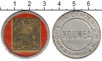 Изображение Монеты Франция Новая Каледония 25 сантим 1922 Алюминий XF