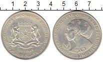 Изображение Монеты Сомали 50 шиллингов 1983 Серебро UNC-